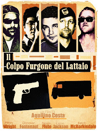 Milk Truck Heist Movie Poster (Italian Release)