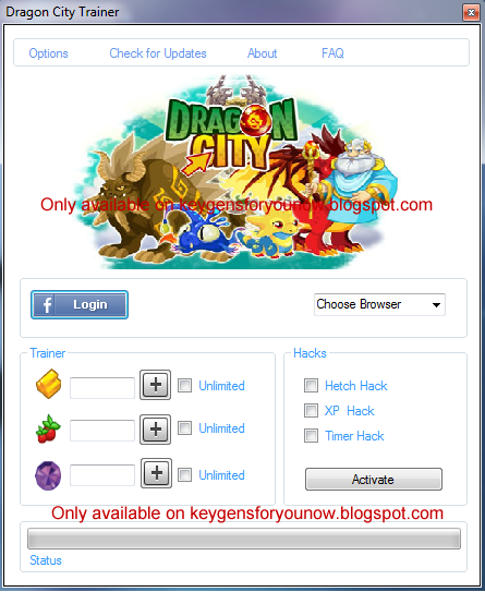 Dragon City Cheat Tool Hack