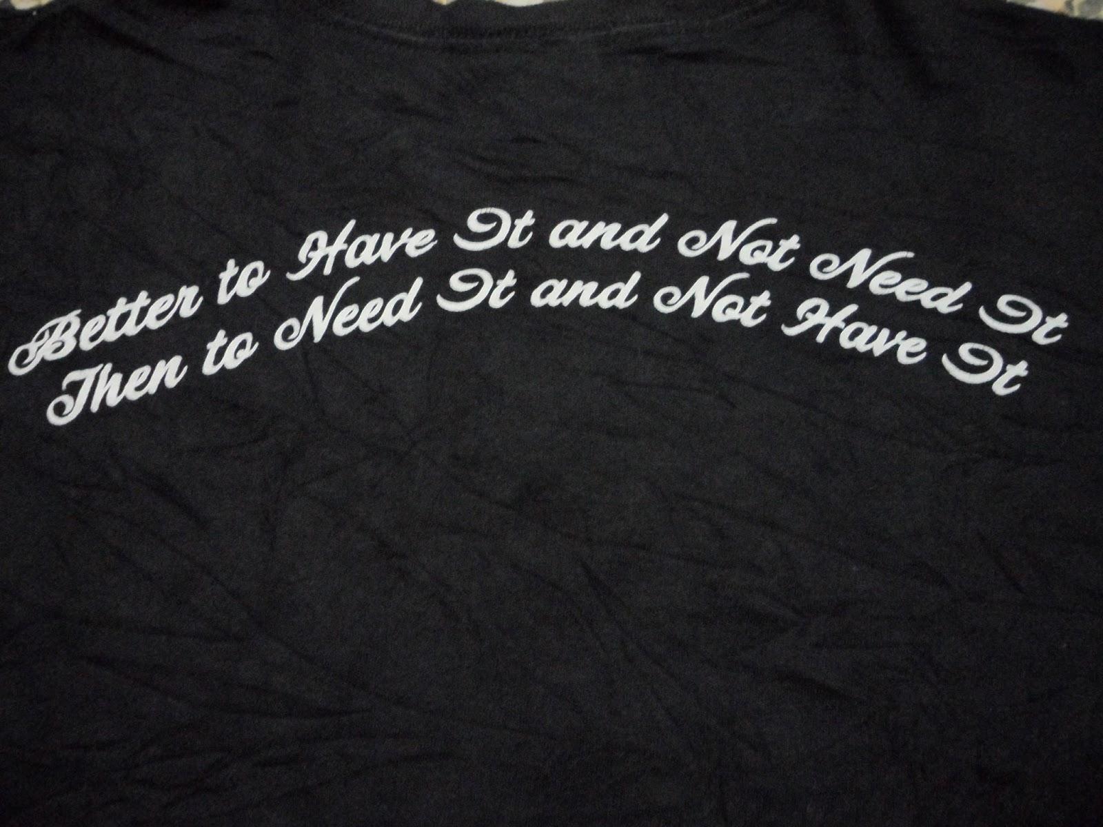 Clayback Bush Thrift Store T Shirt Air Gun By Crooks Castles SOLD