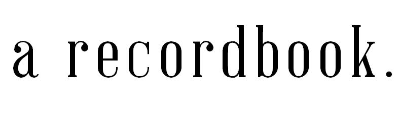 A Recordbook
