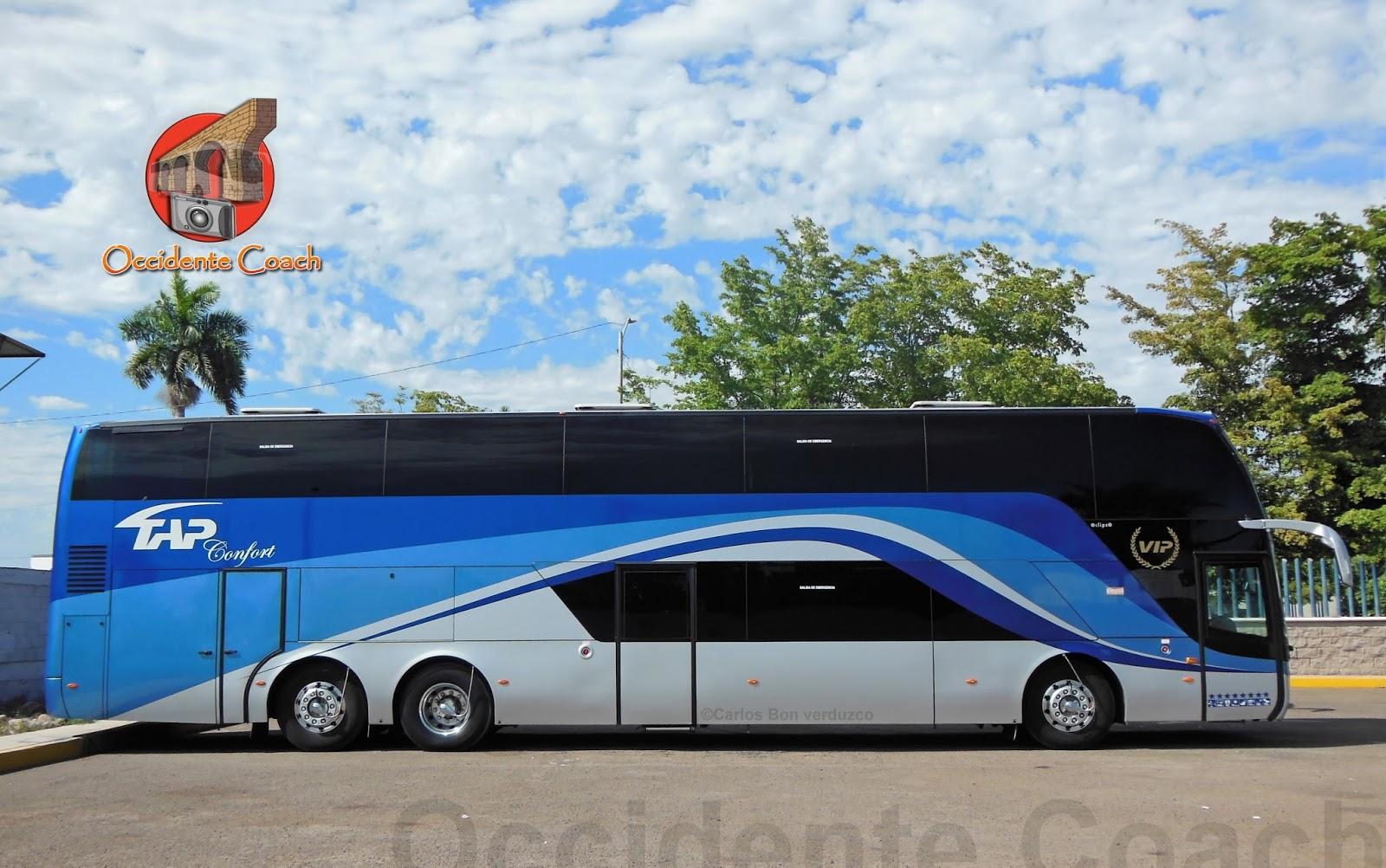 Occidente coach tap confort doble piso - Autobuses de dos pisos ...