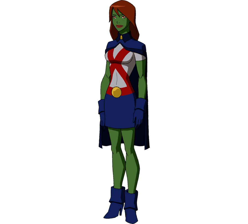 Young justice miss martian remarkable idea