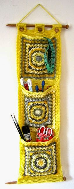 Idea para el hogar: porta objetos con grannys