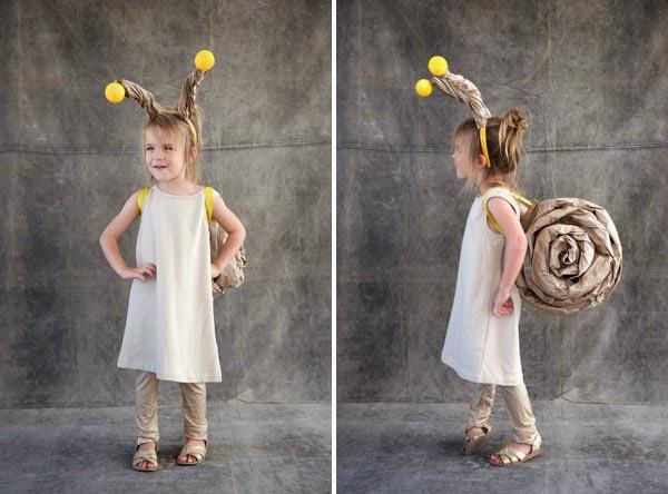 La Reines Blog Selbstgemachtes Schnecken Kostum Last Minute Ohne Nahen