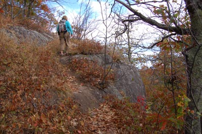 tettegouche mount baldy trail