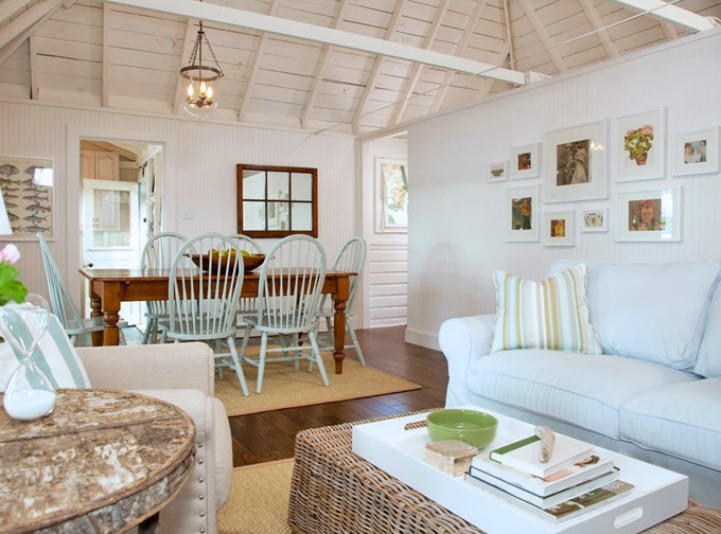 Spotted from the crow's nest: Beach House Tour- Cottage on the