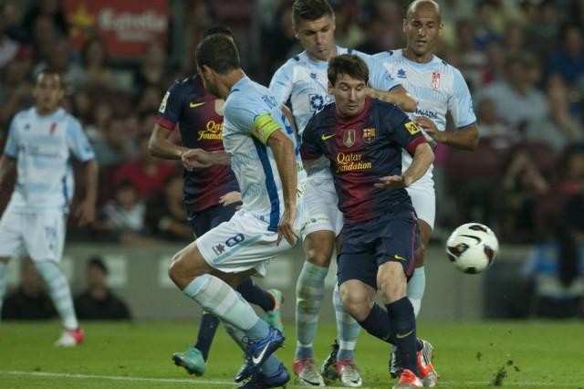 Lionel Messi Barcelona vs Granada (2-0) 23 September 2012