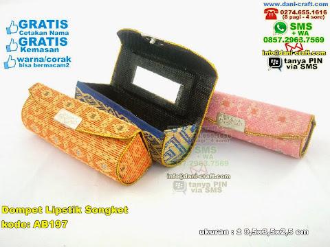 Dompet Lipstik Songket