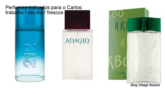 Perfumes masculinos para trabalhar.