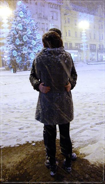 par u snijegu