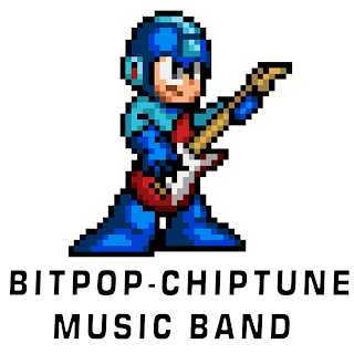 Megaman Guitar Rockman Guitarra Music 8-Bit Metal Rock Chiptune Bitpop
