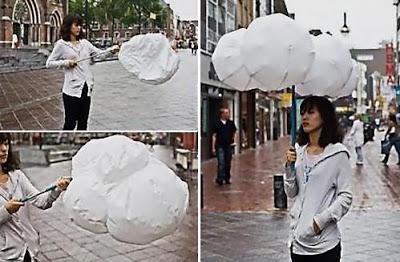 Payung-Payung Unik dan Aneh