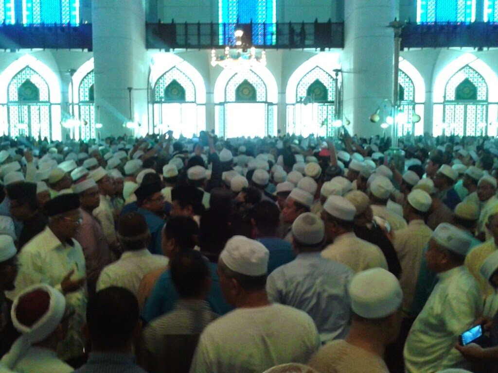 Lautan Manusia | Imam | Masjid Negeri Shah Alam | Shaklee | Sg. Buloh