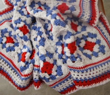 American Beauty Throw - Free Pattern