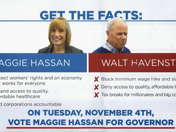 On Tuesday November 4th Vote Maggie Hassan For Governor
