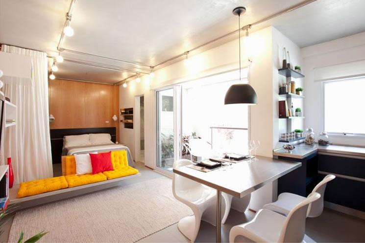 decoracao de apartamentos pequenos e charmosos : decoracao de apartamentos pequenos e charmosos:Inspiração: decoração de apartamento pequeno