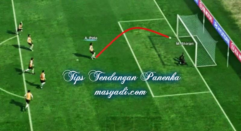Trick Tendangan Penalti Panenka di PES dan Winning Eleven PS2