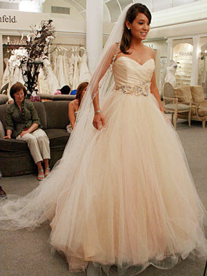 Ohgraciepie one scoop peach sherbet please for How much is a lazaro wedding dress