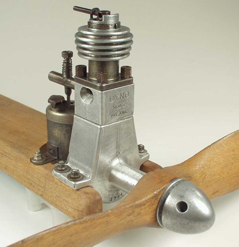 Vintage Model Airplane Engine 102