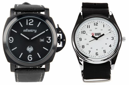 Model Jam Tangan Analog Pria Keren Terbaru 2014