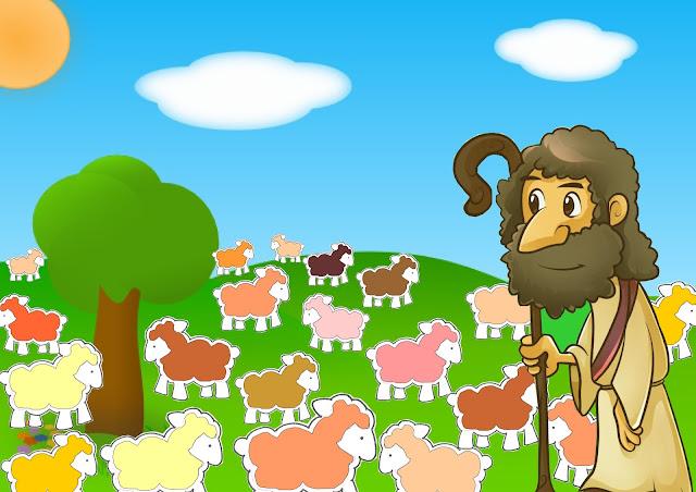 PIAKu: Gambar Buat Cerita Domba Yang Hilang