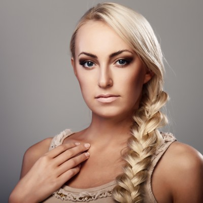 Hairstyles For Long Hair Plaits : sweet plait hair style most beautiful plait hair style for