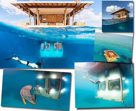 Hotéis mais exóticos do mundo - The Manta Resort