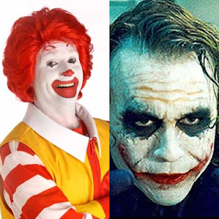 Ronald MacDonald Vs Joker