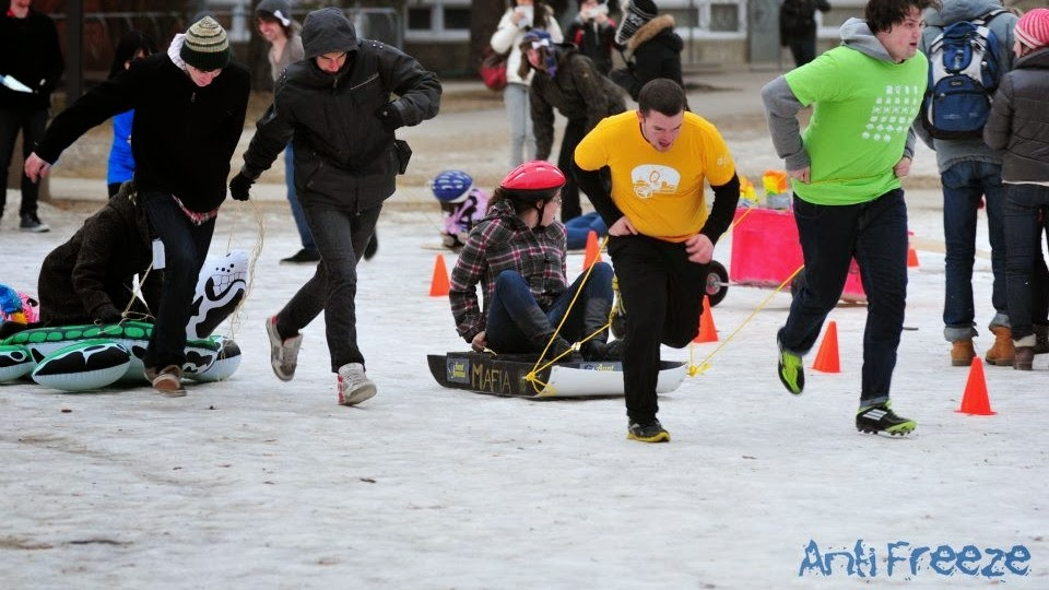 AntiFreeze Sled Competition