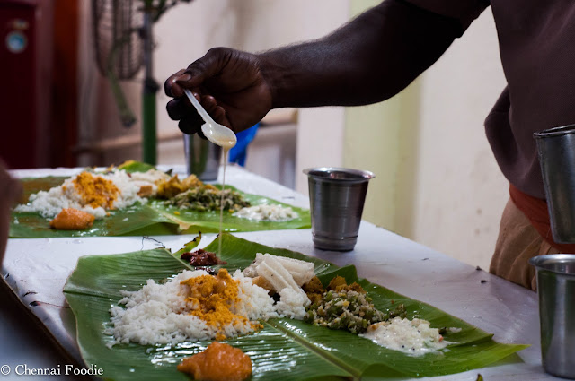 Festive Special -Vani Mahal Sabha Lunch!!!!!!