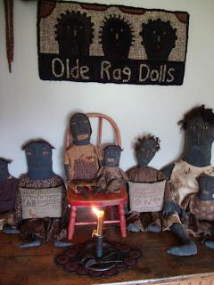 Homespunprims Olde Rag Dolls Rug For Sale