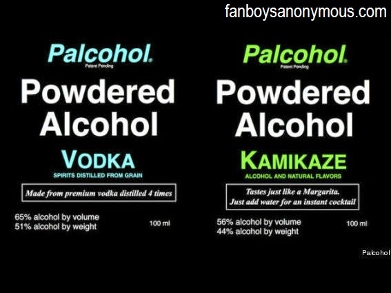 Mark Phillips invents powder to turn water into vodka and rum