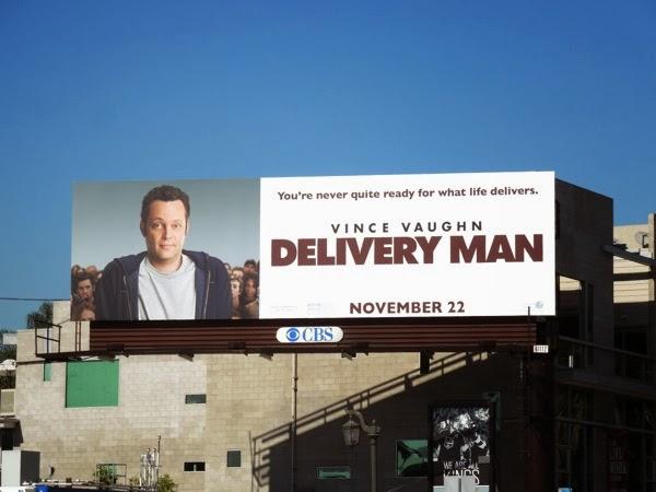 Vince Vaughn Delivery Man movie billboard