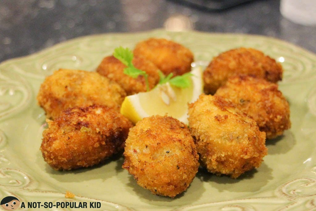 The amazing ham and chicken croquettes of Pia Y Damaso