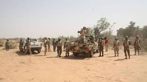 Nigerian Troops advance towards main camp of Boko Haram in Sambisa