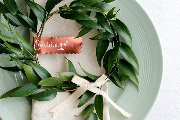 Copper Wedding Day Details