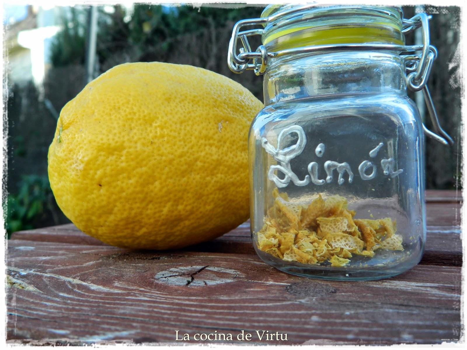 La cocina de virtu reciclar c scara de lim n - Cascara de limon ...