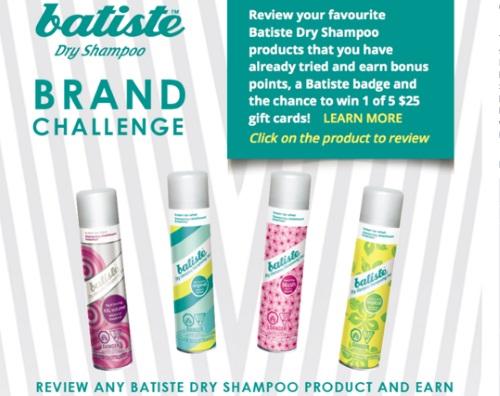 Chickadvisor Batiste Dry Shampoo Brand Challenge