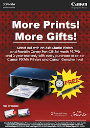 Canon Holiday Pixma Promo