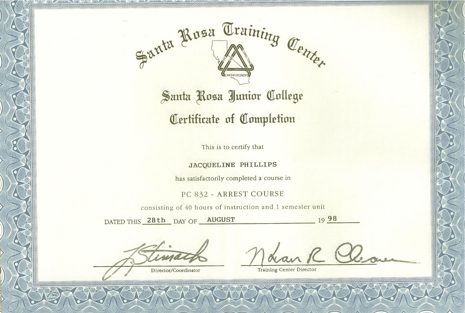 Pet Detective Case Blog: Professional Training Certificates