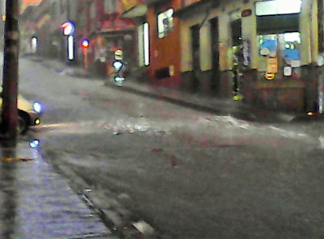 'Run for cover' time in Bogotá ...