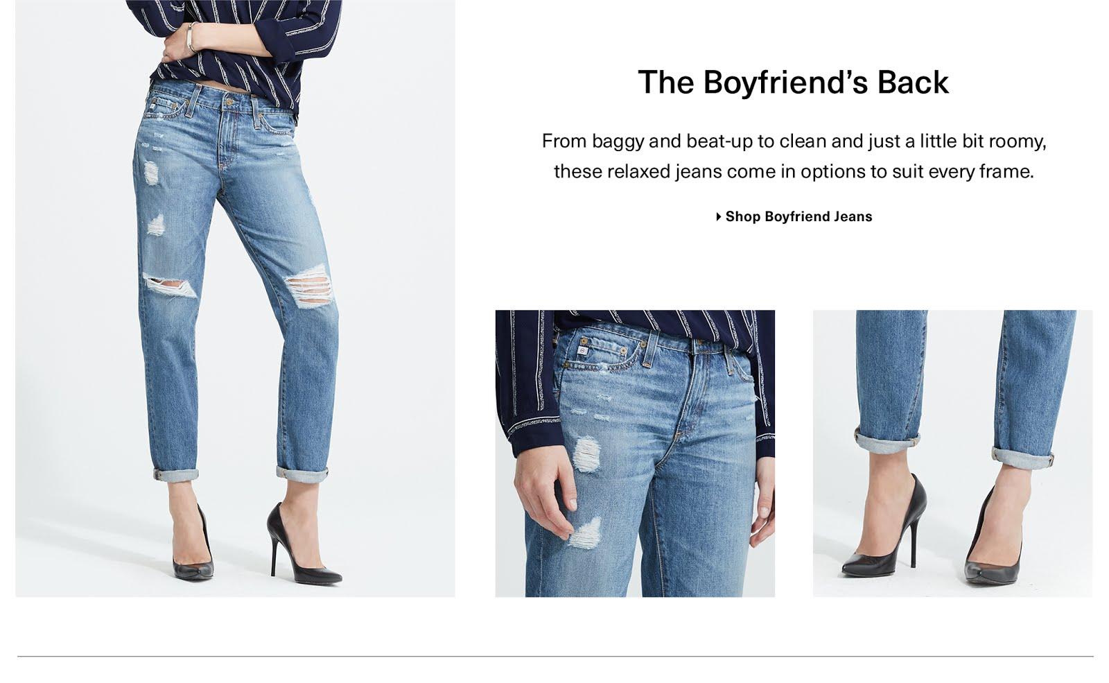 The Boyfriend's Jeans