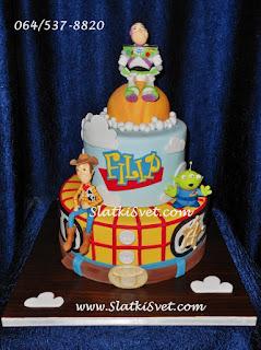 Torta Toy Story - Torte Beograd - Torte Novi Sad - rodjendanske torte