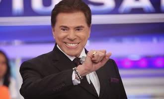 Silvio Santos grava programa onde alfineta a turma do Pânico