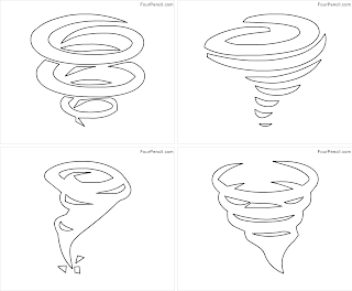 free printable tornado coloring pages for kids