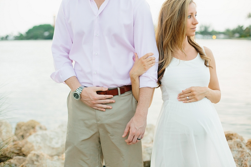 palm beach south florida maternity photos