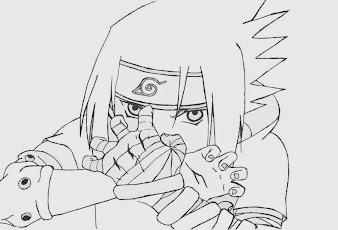 #7 Sasuke Manga Drawing