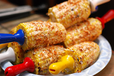 grilled mexican corn, elote