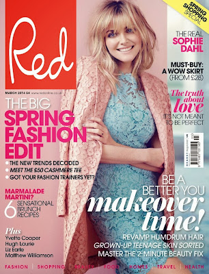 Sophie Dahl Photos from Red UK Magazine Cover March 2014 HQ Scans
