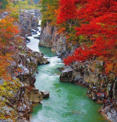 Gole di Geibikei - Ichinoseki (Giappone)